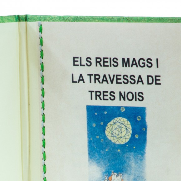 """BOOK: ELS REIS MAGS I LA TRAVESSIA DE TRES NOIS ("""" THE MAGI AND THE JOURNEY OF 3 BOYS"""") - ADVANCE ORDER"""